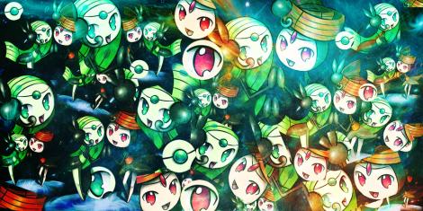 Pokemon Moeletta Wallpaper