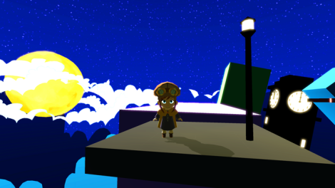 A Hat in Time Night Screenshot