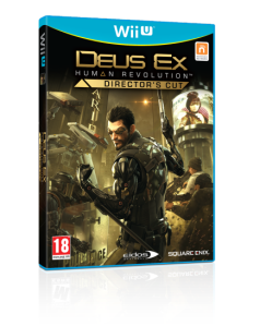 Deux Ex Human Revolution Wii U Boxart