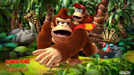 Donkey Kong County Returns Wallpaper