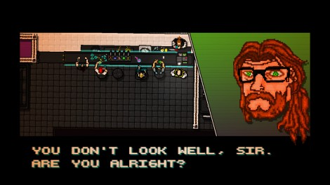 Hotline Miami Convo Screenshot