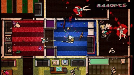 Hotline Miami Gameplay Screenshot