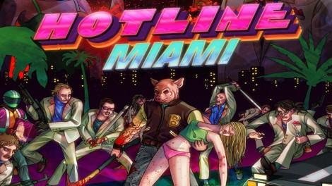 Hotline Miami Pig Mask Wallpaper
