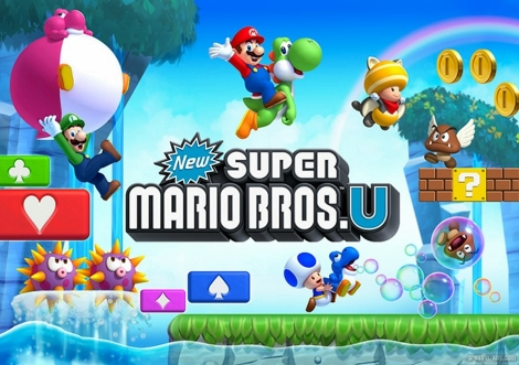 New Super Mario Bros. U Wallpaper