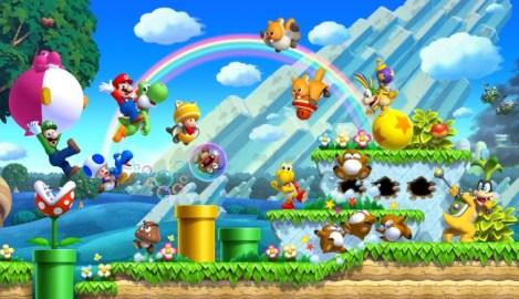 New Super Mario Bros Wallpaper 2