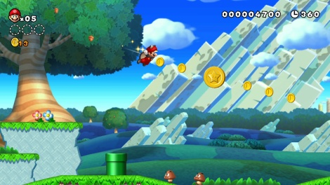 New Super Mario U Screenshot 1