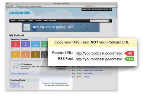 Podomatic RSS Feed