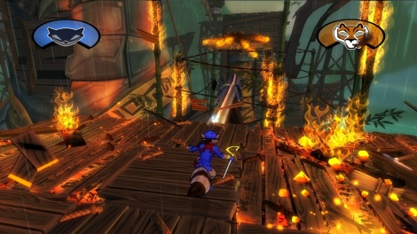 Sly Cooper; Thieves in Time Screenshot 1