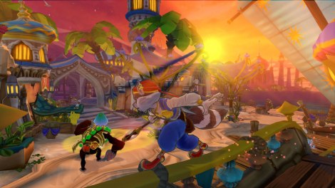 Sly Cooper; Thieves in Time Screenshot 2
