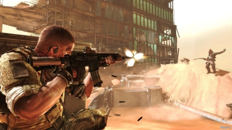 Spec Ops The Line Shoulder Shoot Screenshot