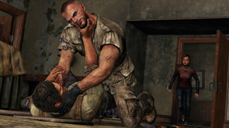 The Last of Us Joel Strangle