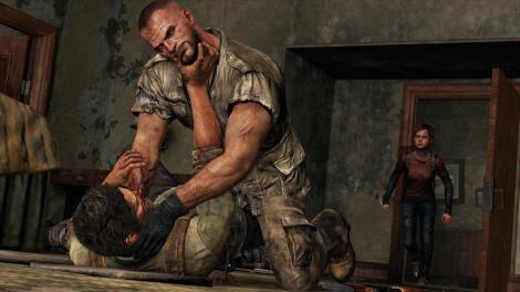 The Last of Us Joel Strangle