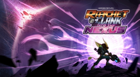 Ratchet and Clank Into the Nexus Wallpaper