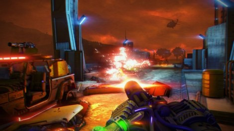 Blood Dragon Screenshot 1